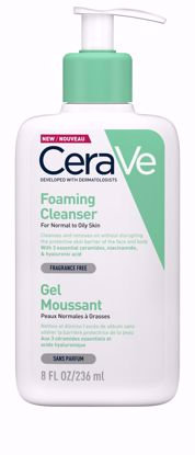 CERAVE FOAMING FACIAL CLEANSER - 236ML - Flawless Body