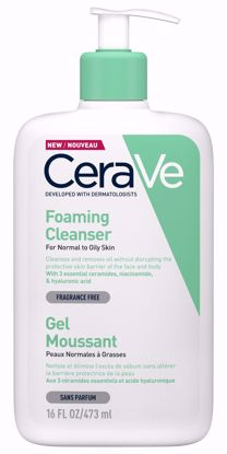 CERAVE FOAMING FACIAL CLEANSER - 473ML - Flawless Body