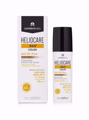 Picture of Heliocare 360° Color Gel Oil-Free Bronze 50ml