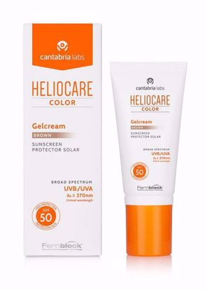 Picture of Heliocare Color Gelcream Brown SPF 50 50ml